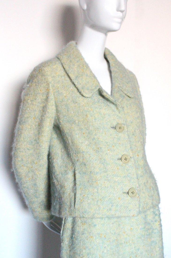 Junior Sophisticates by Anne Klein Green Suit, c.1960's