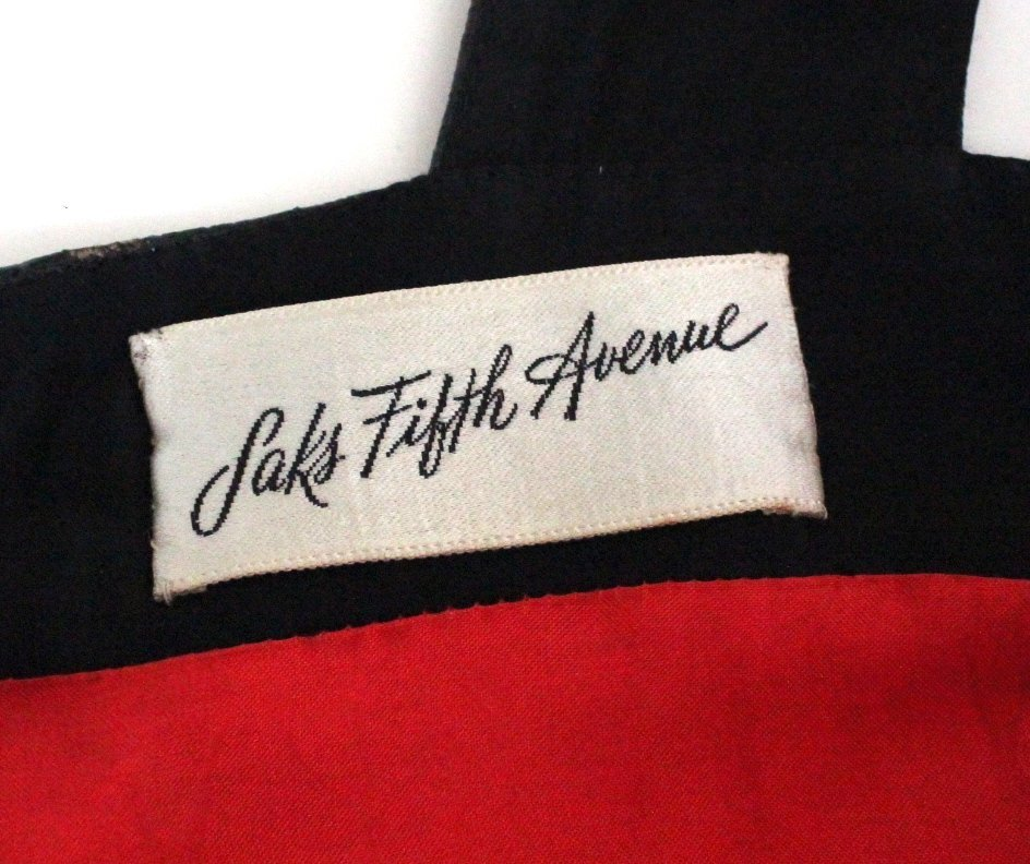 Pierre Cardin Paris Red Wool & Vinyl Dress, c.1970's - 5