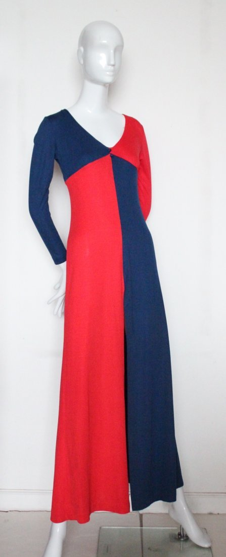 Mixed Media Ban-Lon Fashion Mod Dress, c.1960's