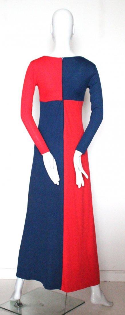 Mixed Media Ban-Lon Fashion Mod Dress, c.1960's - 3