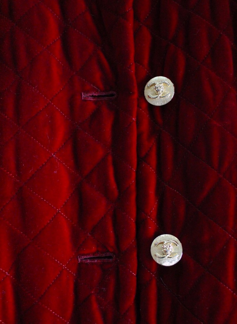 Chanel Couture by Chez Ninon Velvet Coat, ca.1973 - 4