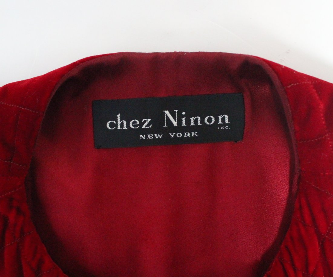 Chanel Couture by Chez Ninon Velvet Coat, ca.1973 - 5