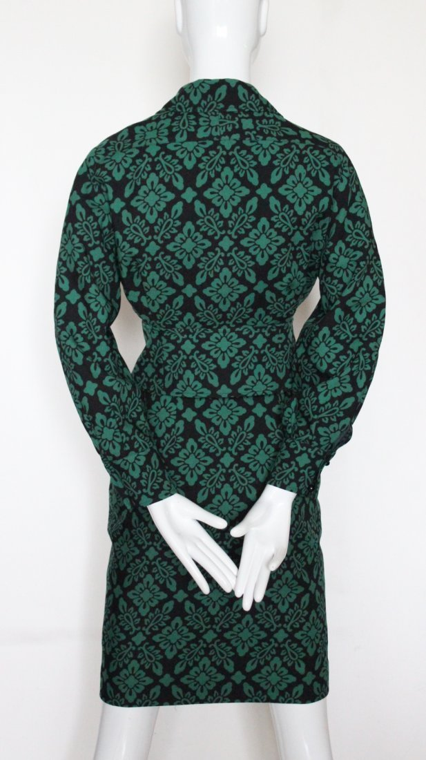 Guy Laroche Green & Black Wool Suit, c.1970's - 3