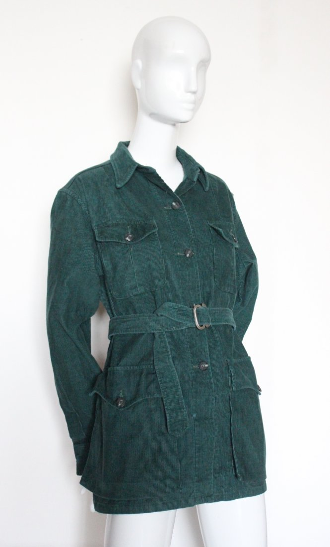 Abercrombie & Fitch Green Corduroy Jacket, c.1970's