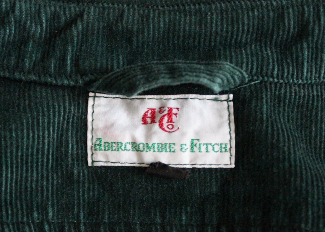 Abercrombie & Fitch Green Corduroy Jacket, c.1970's - 4