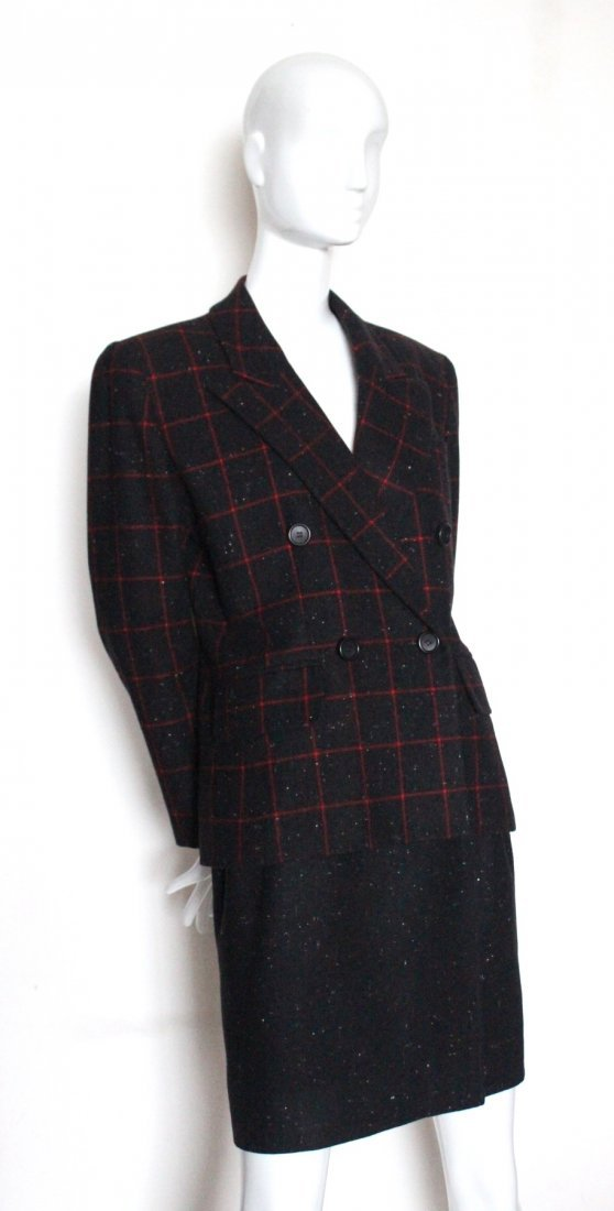Saint Laurent Rive Gauche Wool Suit, Spring 1988