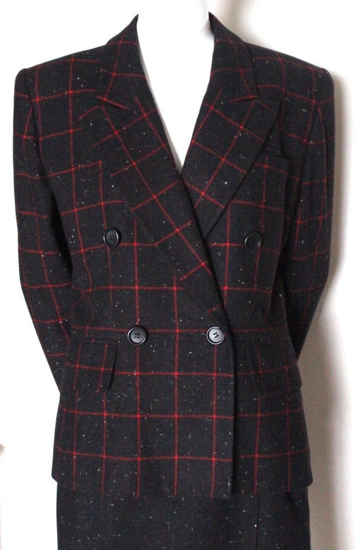 Saint Laurent Rive Gauche Wool Suit, Spring 1988 - 2