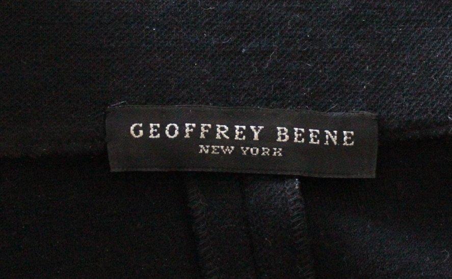 Geoffrey Beene Scuba Style Wool Dress, c.1990's - 5