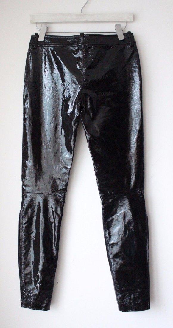 Alexander McQueen Black Patent Leather Pants, F/W 2008 - 2