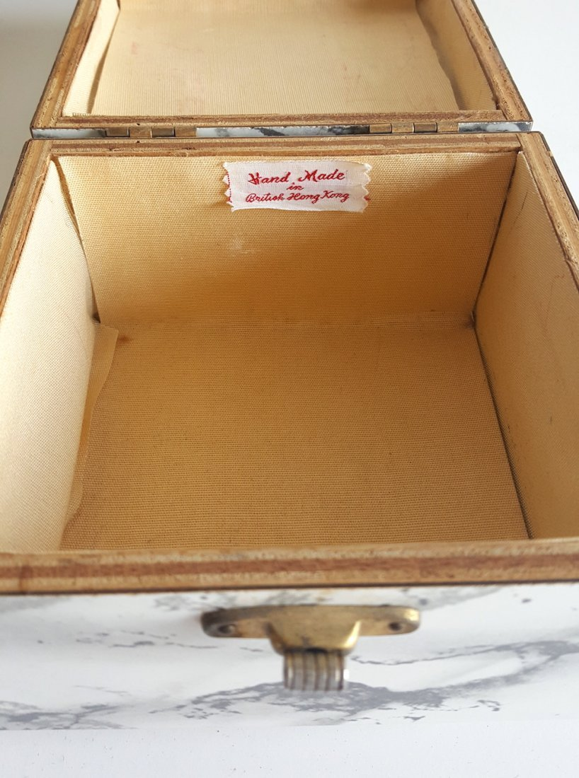Group of 3 Hardshell Box Bags, ca. 1940's-1960's - 3