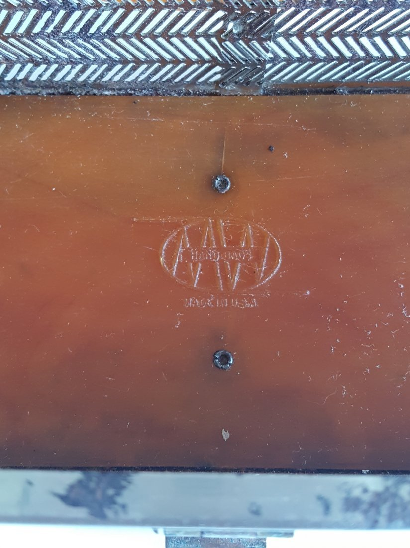 Group of 3 Hardshell Box Bags, ca. 1940's-1960's - 4
