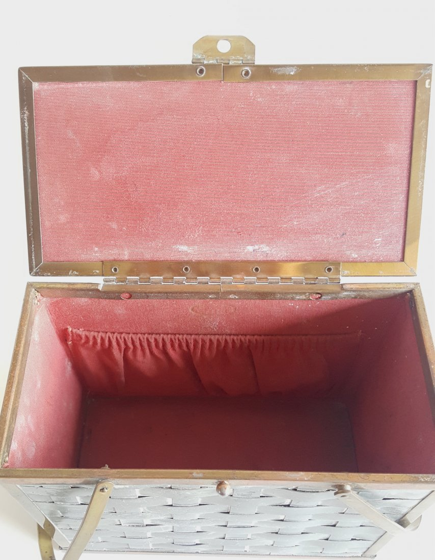 Group of 3 Hardshell Box Bags, ca. 1940's-1960's - 5