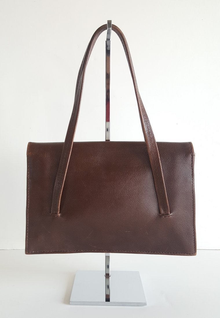 Henry Beguelin for Barney's Brown Leather Hangbag - 2
