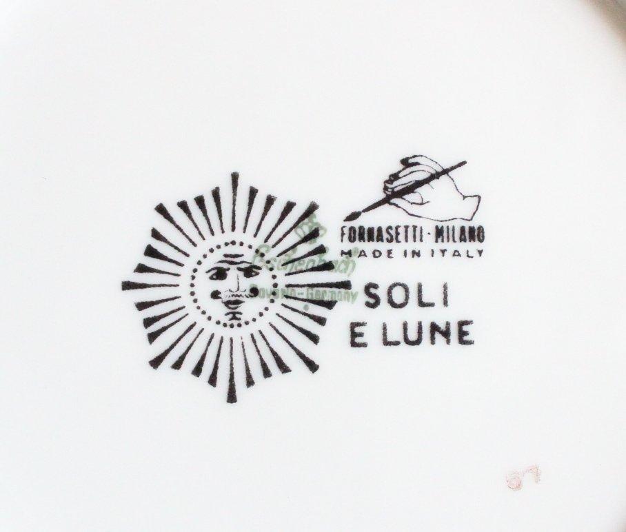 Piero Fornasetti Soli E Lune Plate, c.1950's - 3