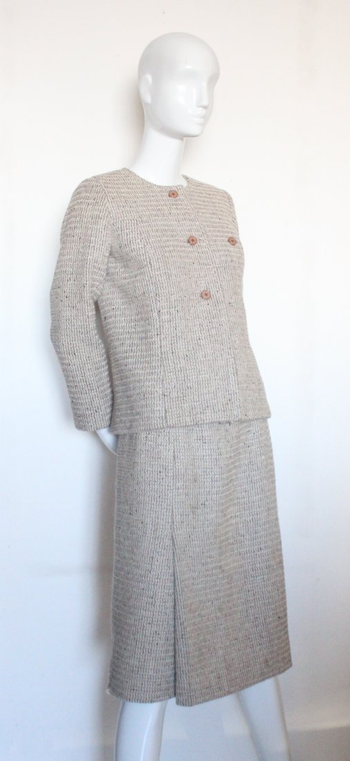 Christian Dior for Saks Fifth Avenue Wool Suit,c.1960's