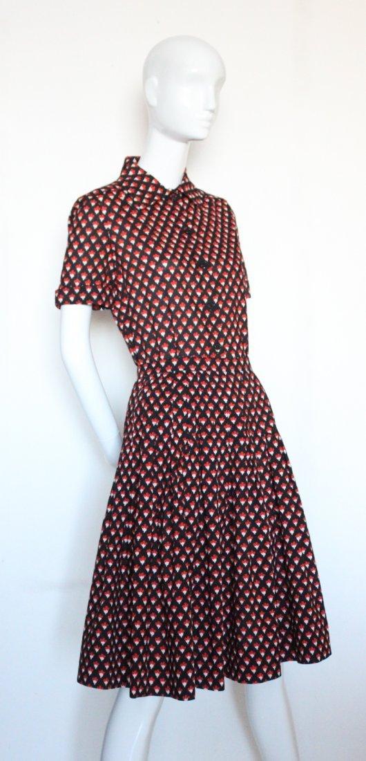 Givenchy Nouvelle Boutique Printed Cotton Set, S/S 1974