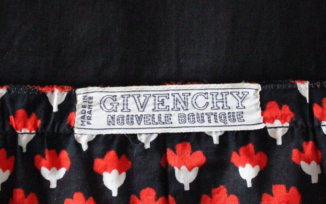 Givenchy Nouvelle Boutique Printed Cotton Set, S/S 1974 - 5