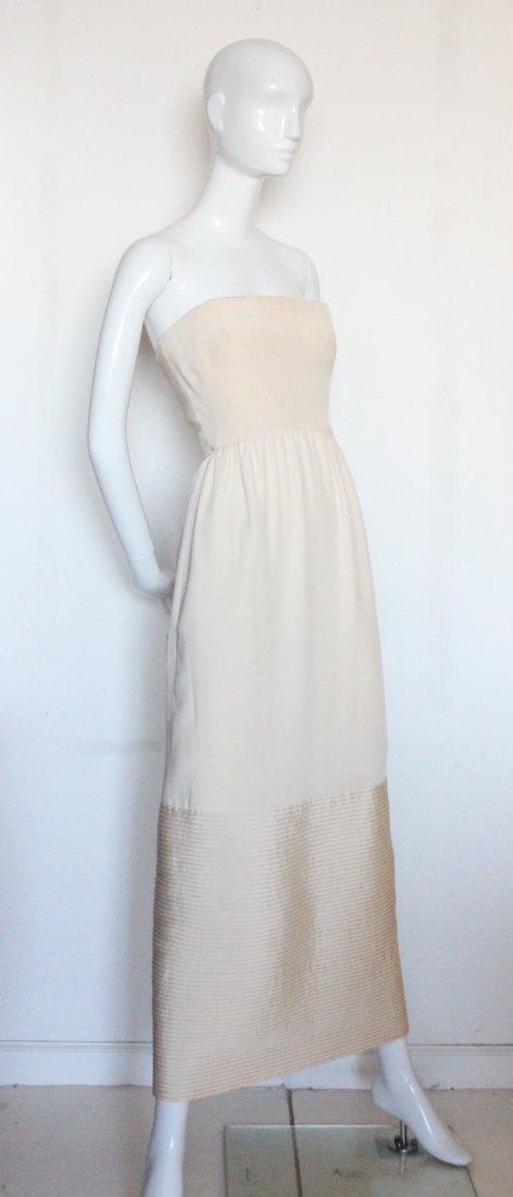 Christian Dior New York Silk Evening Dress, ca.1960's - 2