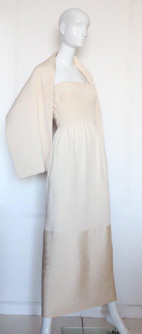 Christian Dior New York Silk Evening Dress, ca.1960's - 3
