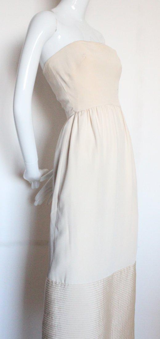 Christian Dior New York Silk Evening Dress, ca.1960's - 4