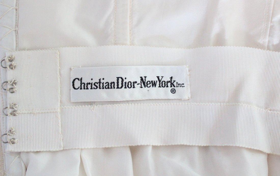 Christian Dior New York Silk Evening Dress, ca.1960's - 6