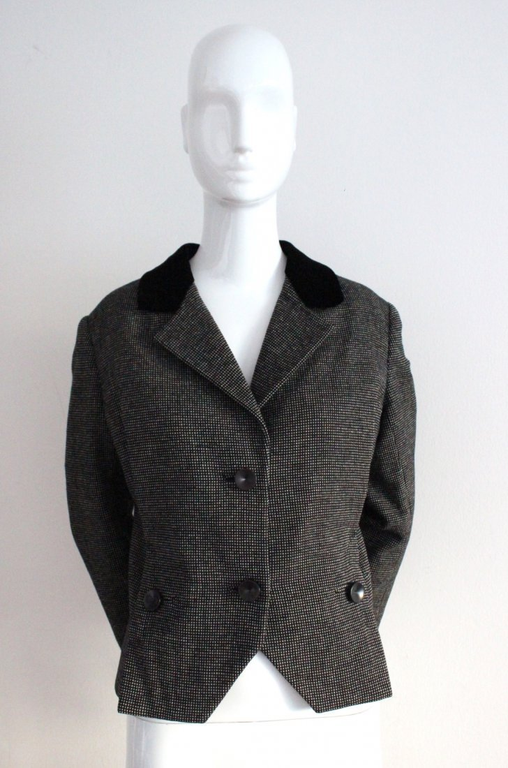 Christian Dior London Wool Tweed Jacket, c.1950's