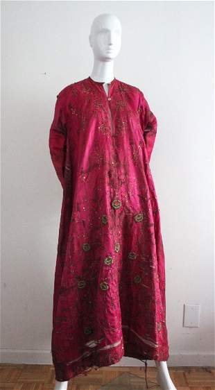Antique Ottoman Embroidered Wedding Dress, 19th C.