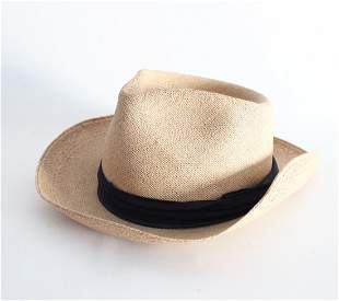 John Davis 5th Avenue Panama Hat ca 1950s