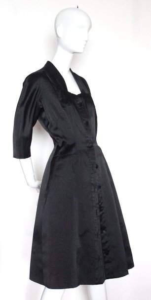 Charles Montaigne Haute Couture Cocktail Dress