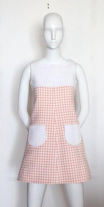Courreges Haute Couture Mini Dress, S/S 1967