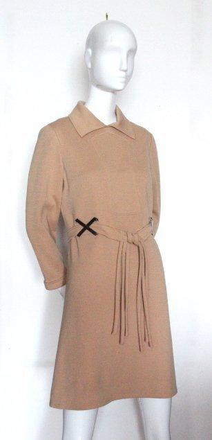 Louis Feraud at Saks Fifth Avenue Mod Dress, ca. 1960's