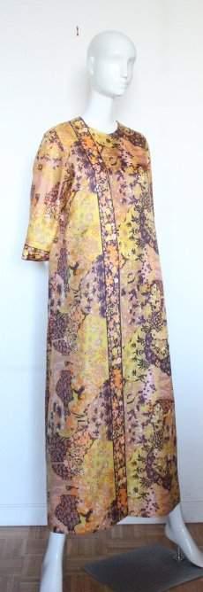 Diana Dean by Julius Lonschein Maxi Dress 1970s