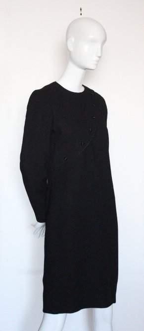 David Hayes for Saks Fifth Avenue Black Dress ca1990s
