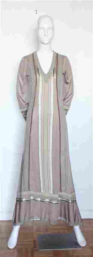 Giorgio di SantAngelo Jersey Knit Maxi Dress c 1970s