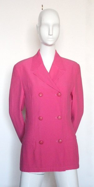 Gianni Versace Pink Jacket, ca. early 1990's