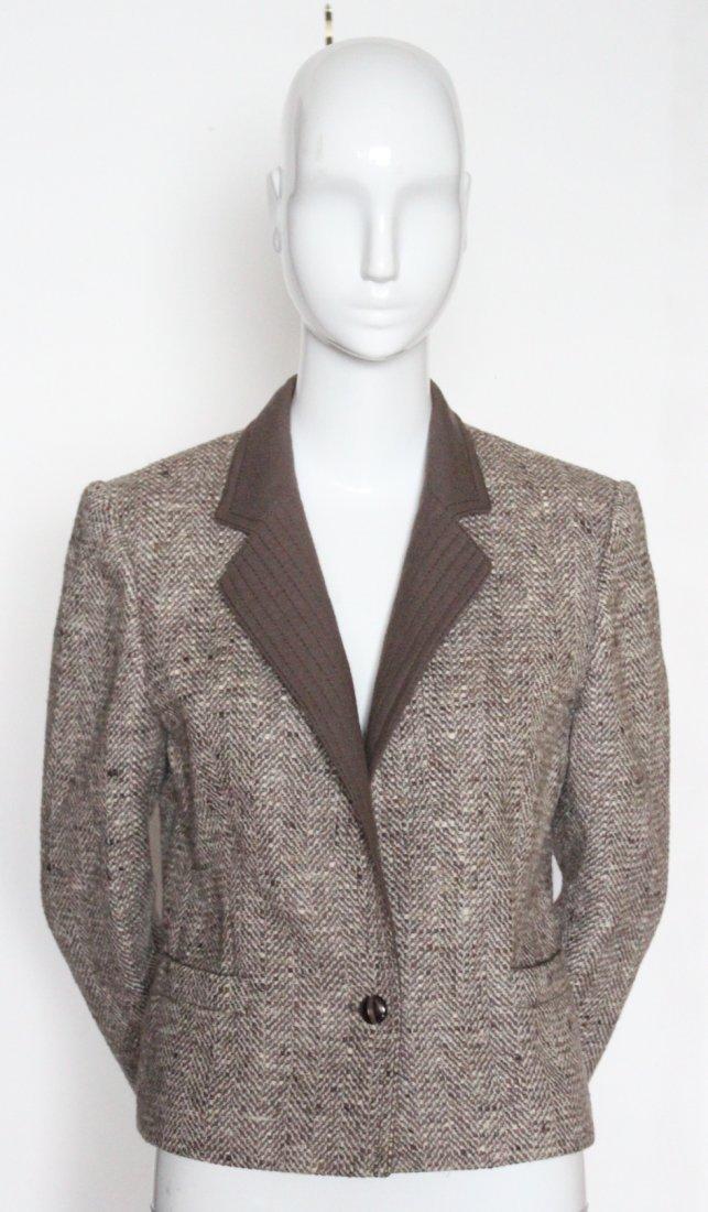 Louis Feraud Tweed Jacket, ca. 1990's