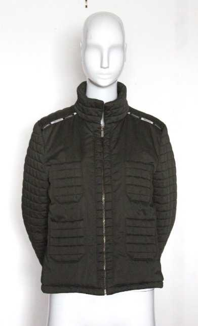 0a398914de0e Chanel Identification Khaki Green Quilted Jacket, 2000s