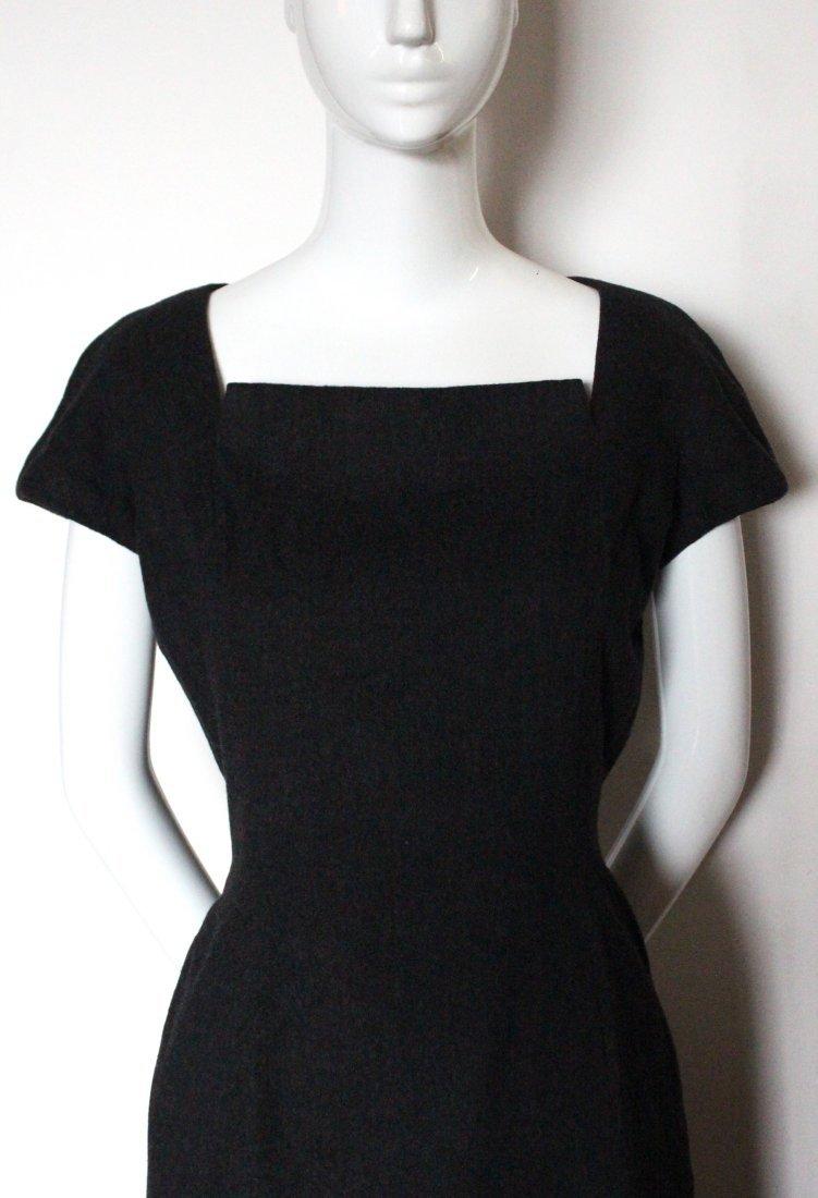 Christian Dior Haute Couture Gray Dress, F/W 1955 - 3