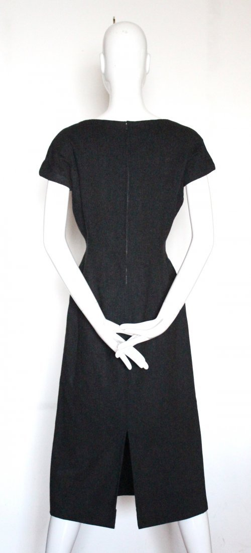 Christian Dior Haute Couture Gray Dress, F/W 1955 - 4