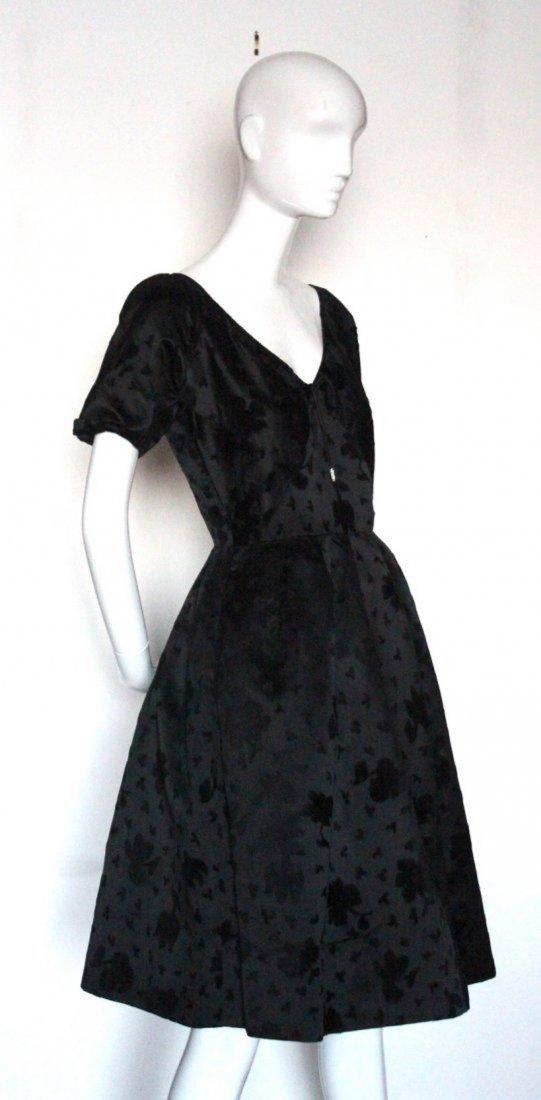 Hattie Carnegie Couture Cocktail Dress, 1950's
