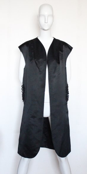 Florence Lusting Couture Silk Evening Vest, ca.1950's - 2
