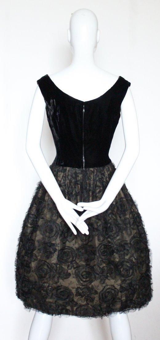 G. Kazazian Paris Couture Cocktail Dress, ca. 1950's - 2