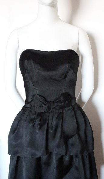 Christian Dior by YSL Copy Black Dress, F/W 1959 - 2