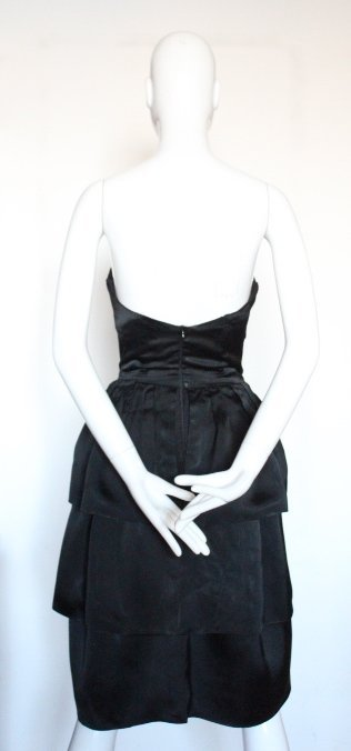 Christian Dior by YSL Copy Black Dress, F/W 1959 - 3