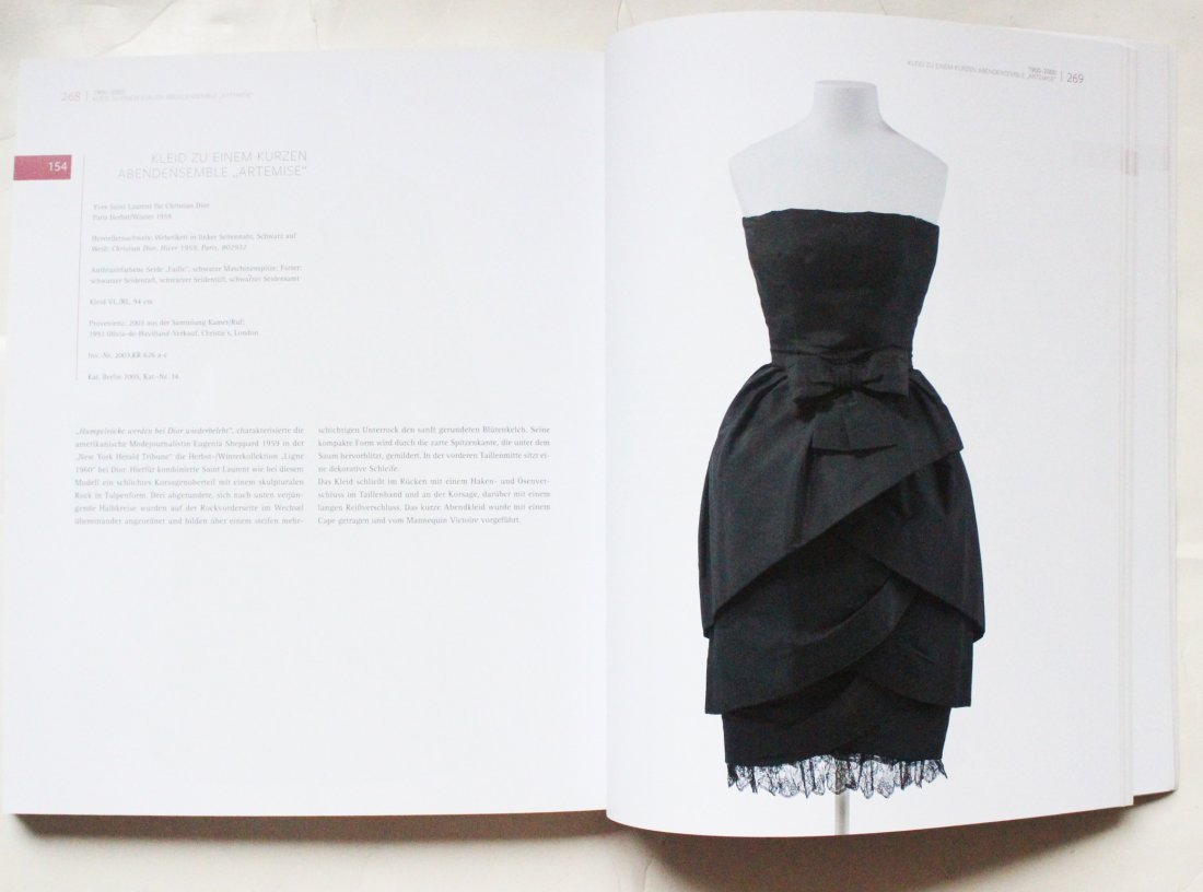 Christian Dior by YSL Copy Black Dress, F/W 1959 - 4