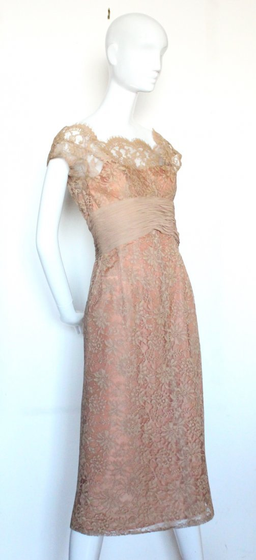 Marshall Fields & Co. Chantilly Lace Dress, ca.1960's