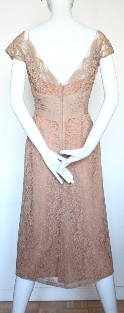 Marshall Fields & Co. Chantilly Lace Dress, ca.1960's - 3