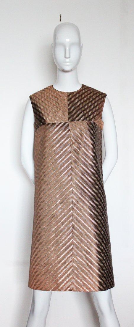 Jean Patou Boutique Demi Couture Dress. early 1960's