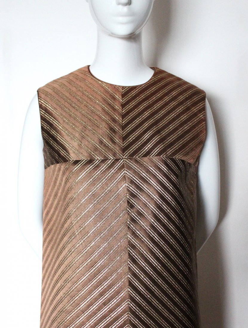 Jean Patou Boutique Demi Couture Dress. early 1960's - 2