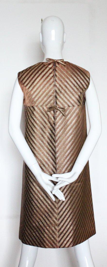 Jean Patou Boutique Demi Couture Dress. early 1960's - 3